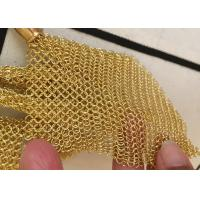 Customized Chainmail Ring Metal Mesh Drapery For Shopping Mall Hotel Decoration Manufactures