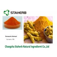 Quality Curcumin Turmeric Root Extract Orange Yellow Crystal Powder Colorant Pigments for sale