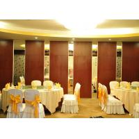 Conference Room Sound Proof Partitions Wall Paper Partition For Banquet Hall Manufactures
