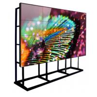 Quality Large Size LCD Wall Screen Monitor 3.5mm Bezel Video Controller Ultra Narrow Stitching for sale