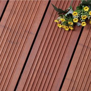 Formaldehyde Free Decorative Wood Panels , Natural Bamboo Wood Sheets Manufactures