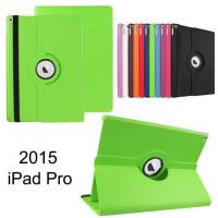 360 Degree rotating Leather Tablet Case / Cover , Colorful ipad pro case Manufactures