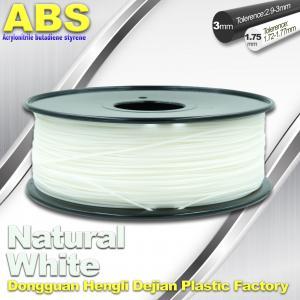 Good eEasticity 3D Printing Materials Transparent ABS Filament For Cubify Printer Manufactures