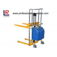 China Materials Handling Equipment 200kg 400kg Multi Purpose Light Duty Electric Stacker on sale
