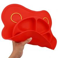 China Highchair Feeding Tray Round Silicone  Baby Suction Placemat for Kitchen Dining Table for sale