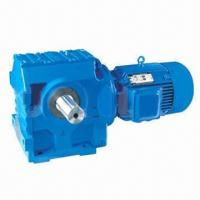 Helical-worm right angle gear motor, suitable for industrial use Manufactures
