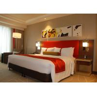 Crowne Plaza Hotel Bedroom Furniture , Elegant Brown Guest Bedroom Furniture Manufactures