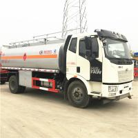 FAW 4x2 Wheel 15000 Liters Mobile Fuel Dispenser Truck 8450x2500x3200mm Manufactures