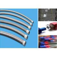 An6 oil cooler hose rubber 304 stainless steel wire braided an hose high pressure temperature assembly hydraulic hose li Manufactures