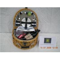 popular 2-persons willow picnic basket Manufactures