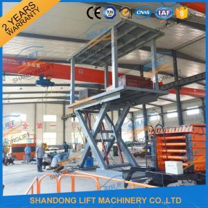 5T 3M Hydraulic Car Lift for Home Garage Basement 2 Car Parking Scissor Lift CE Manufactures