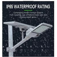 140-160lm / W Outside Solar Powered LED Street Lights For Garden Decorative Manufactures