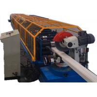 Metal Downpipe Roll Forming Machine / Rectangle Round Downspout Machine Manufactures