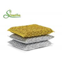 PET Non Abrasive Scouring Pad Kitchen Cleaning Tools No Rust Chemicals Free Manufactures