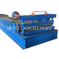 China Roofing Sheet Roll Forming Machine , 6kw Power Metal Sheet Forming Machine on sale