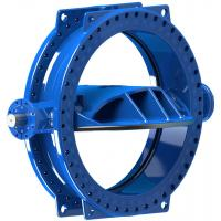 Stainless Steel Disc Ring Double Eccentric Butterfly Valve Wore Gear Operated Manufactures