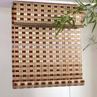 China Natural Indoor Outdoor Use Chinese Curtain Roller Bamboo Blind on sale