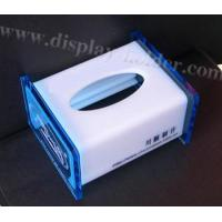 Top Open Acrylic Tissue Box (TB-010) Manufactures