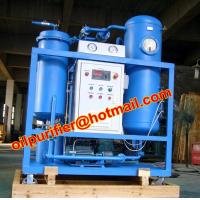 Turbine used Oil Filtration and Flushing machine, Dewater and break emulsification, multi-stage filter via auto-back Manufactures