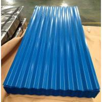 Buy cheap Color-coated Corrugated Roofing Sheets Steel Roofing Tile PPGI Roofing from wholesalers