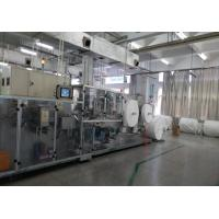 High Speed Wet Wipes Production Line Full Servo Driving Longer Knife Service Time Manufactures