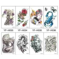 Water Transfer Tattoo Decal Paper Customized 8.5 X11 50 Sheets Waterproof Manufactures