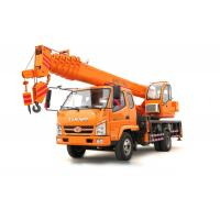 T.King 10 -12 Ton Hydraulic Truck Crane With 4 Outrigger Telescopic Boom 26M - 36M Manufactures