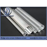 Wedge Wire Screen Wire Mesh Screen Cylinder For  Water Treatment Manufactures