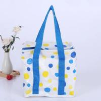 China Multicolor Soft Sided Insulated Cooler Bag With Heat Transfer Printing on sale
