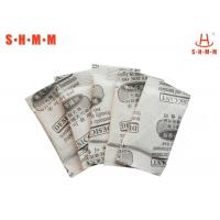 Professional Humidity Absorber Bags / Moisture Absorber Bags DMF Free , RoHS Certificate Manufactures