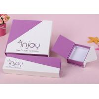 Elegant Foldable Cardboard Packing Boxes CMYK Printing With Grey Chipboard Manufactures