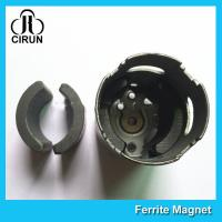 C5 Grade Permanent Ferrite DC Motor Magnet High Performance R13.15*R8.8*H21mm Manufactures