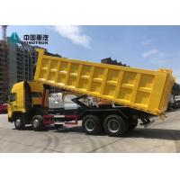 China 2020 Year A7 Sinotruk Howo 30M3 Heavy Duty Dump Truck With Front Lifting 8x4 12 Wheels on sale