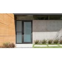 Patio Single Panel Aluminium Casement Hinged Glass Door Customized Profile Color Manufactures