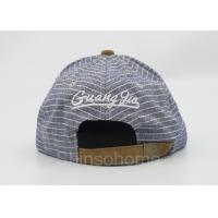 Quality Fashion Colorful Snapback Acrylic Baseball Caps 3D Embroidery With Metal Buckle for sale