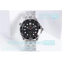 OM Factory Omega Seamaster Diver 300m Black Dial SS - Swiss 8800 Manufactures