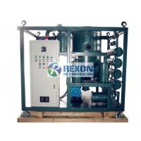 China Insulating Transformer Oil Regeneration Machine Recycling Plant Multi - Stage 6000LPH on sale