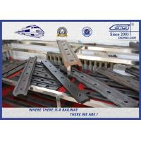 High performance light fish plate rail joint bar  for rail track Manufactures
