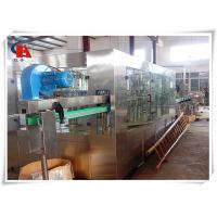 PET Bottle Washing Filling And Capping Machine , Volumetric Liquid Bottle Filling Machine 3.63KW Manufactures