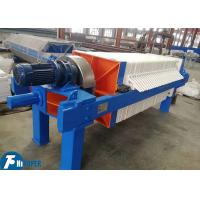 Durable Industrial Filter Press With 40m2 Filter Area For Basic Chemicals Manufactures