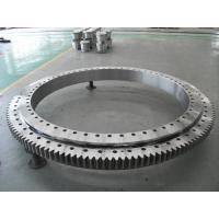 China RKS.161.14.0644 crossed roller Slewing bearing  574x742.8x56 mm on sale