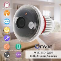 EAZZYDV Wireless Mini Bulb-shaped Security Wifi Camera by APP on Phone/PC ( Night Vison Motion Dection) Manufactures