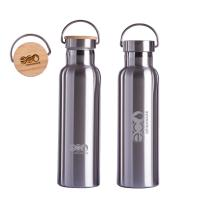 Portable Stainless Steel Reusable Water Bottle 600ml750ml LFGB SGS Certification Manufactures
