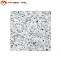 Custom Size Sesame White Granite Stone Tiles 0.28% Water Absorption Manufactures