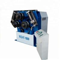 Automatic Hydraulic Iron Profile Tube Bender Rolling Bending Machine W24S-6 Manufactures