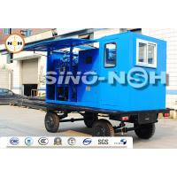 Grid Power Transformer Oil Processing, mobile at substation, with separate control room,transformer oil treatment system Manufactures