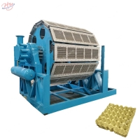 China 1470mm×470mm 15 Plates/Min Egg Tray Forming Machine on sale