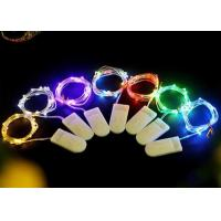 Multicolor / White Battery Operated LED String Lights , Indoor Fairy Lights Manufactures