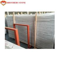 China Grey/White Wooden Vein Marble for Floor/Wall Tile Stone Manufactures