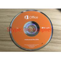 Microsoft Office 2016 Proffesional DVD 32 / 64 Bit 1 PC English Version Genuine , Office 2016 Pro PKC Manufactures